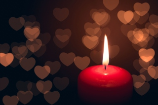 Free Love Candle Picture for Android, iPhone and iPad