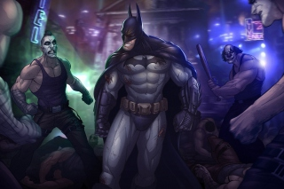Batman, Arkham City Background for Android, iPhone and iPad