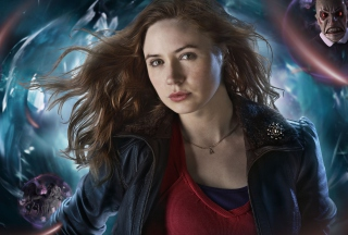 Kostenloses Karen Gillan As Amy Pond Wallpaper für Android, iPhone und iPad