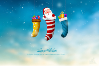 Merry Christmas and Happy New Year Wallpaper for Android, iPhone and iPad
