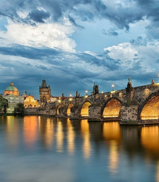 Free Charles Bridge - Czech Republic Picture for 768x1280