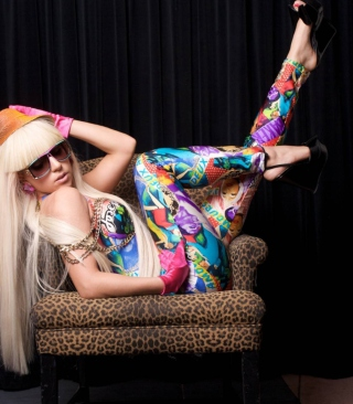 Lady Gaga Wallpaper for Nokia Asha 306