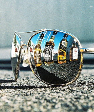 Sunglasses Wallpaper for Nokia Asha 311