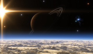 Saturn - Planet with Ring - Fondos de pantalla gratis