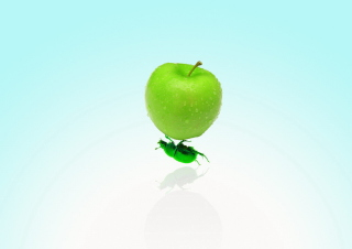 Apple And Bug papel de parede para celular