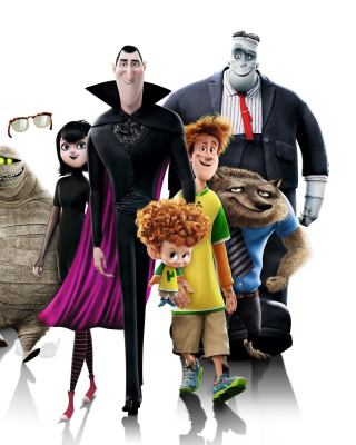 Hotel Transylvania 2 Background for iPhone 6 Plus