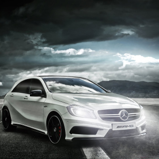 Mercedes AMG A45 Wallpaper for iPad mini 2