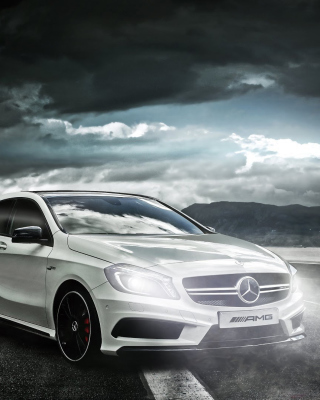 Mercedes AMG A45 Background for 132x176