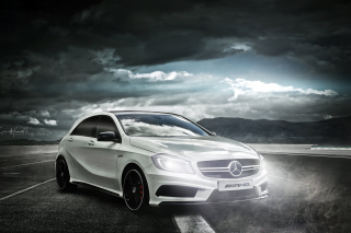 Mercedes AMG A45 Background for Samsung Galaxy Ace 3