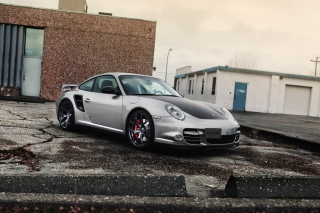 Porsche Tuning Background for Android, iPhone and iPad