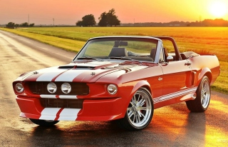1965 Ford Mustang Convertible Picture for Android, iPhone and iPad