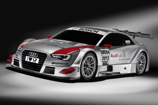 Free Audi A5 Sports Rally Car Picture for Android, iPhone and iPad