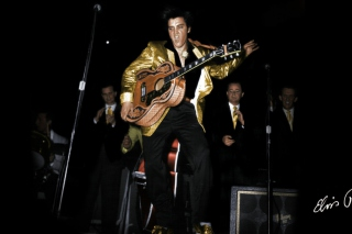 Free Elvis Presley 1956 Picture for Android, iPhone and iPad