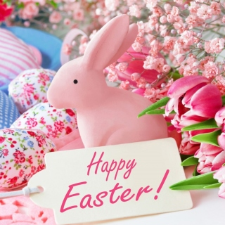 Pink Easter Decoration Background for 208x208