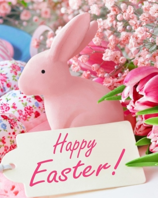 Free Pink Easter Decoration Picture for Nokia C1-00