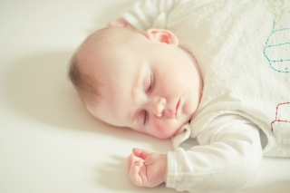 Cute Sleeping Baby Picture for Android, iPhone and iPad