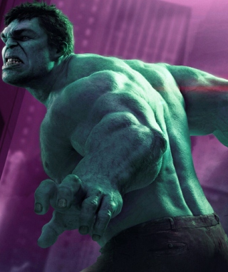 Hulk - The Avengers 2012 Background for Nokia X2