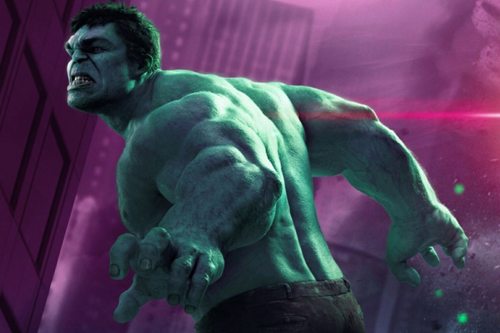 Screenshot №1 pro téma Hulk - The Avengers 2012