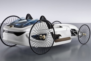 Mercedes Benz F Cell Roadster Picture for Android, iPhone and iPad