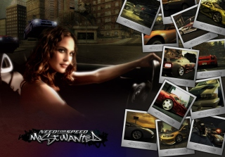 Kostenloses Need for Speed Most Wanted Wallpaper für LG P700 Optimus L7
