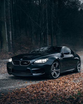 BMW M6 Coupe Wallpaper for 320x480
