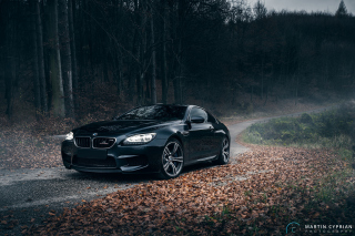 BMW M6 Coupe Background for Android, iPhone and iPad