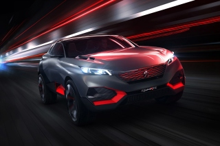 Peugeot Quartz Concept Cars sfondi gratuiti per cellulari Android, iPhone, iPad e desktop
