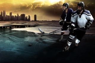 Hockey Background for Android, iPhone and iPad