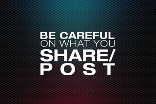 Free Be Careful Picture for Android, iPhone and iPad