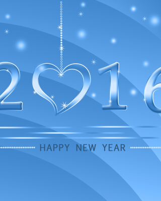 Happy New Year 2016 papel de parede para celular para iPhone 6