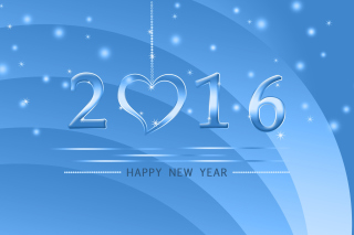 Kostenloses Happy New Year 2016 Wallpaper für Android, iPhone und iPad