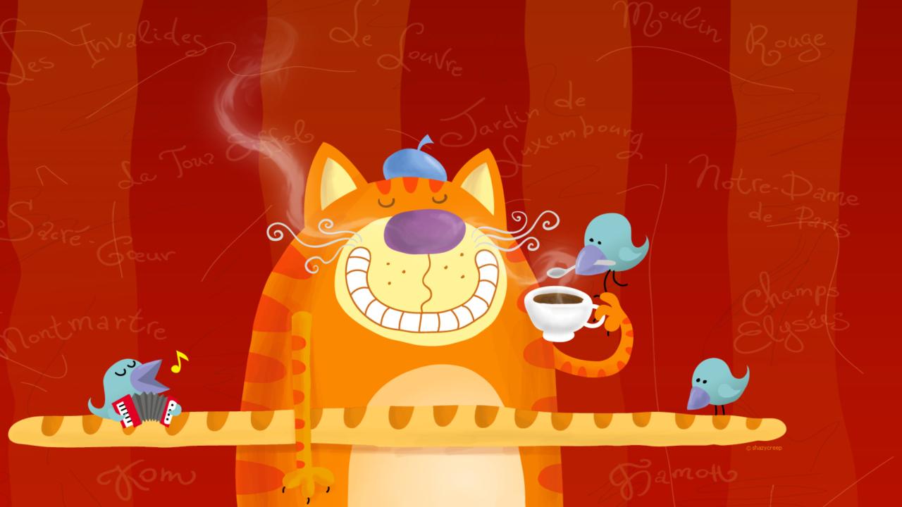 Cats Breakfast
