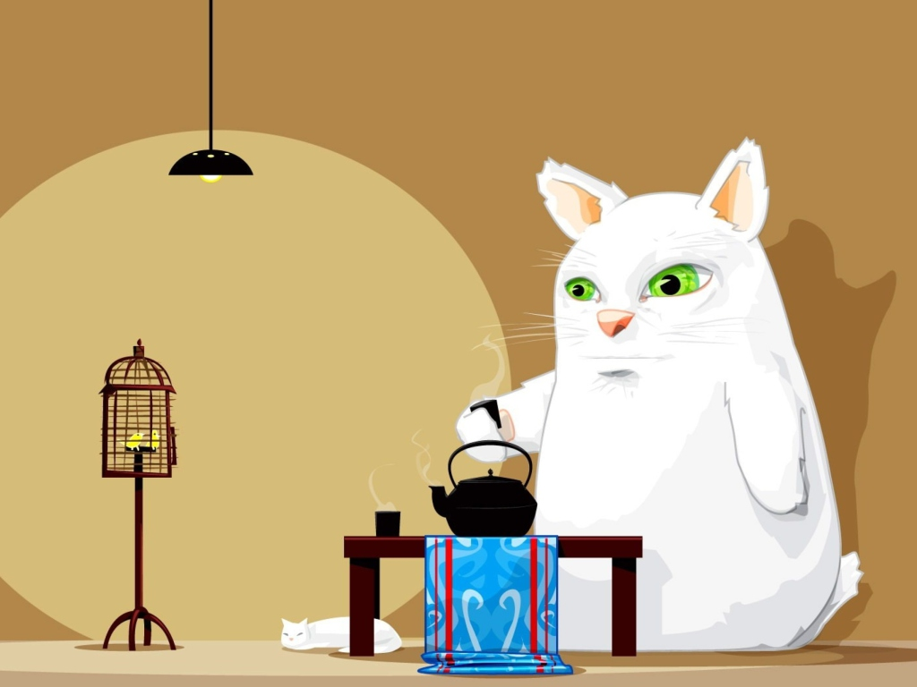 Tea Cat screenshot #1 1024x768