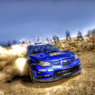 Rally Car Subaru Impreza Picture for iPad 2