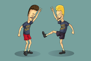 Kostenloses Beavis and Butt Head Wallpaper für 1280x720