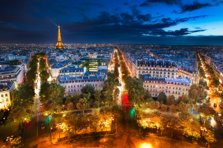 Картинка City Lights Of Paris для андроида