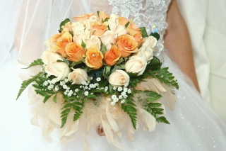 Wedding Bouquet Wallpaper for Android, iPhone and iPad