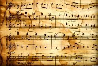 Music Notes Wallpaper for Desktop 1280x720 HDTV