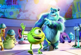 Monsters University sfondi gratuiti per cellulari Android, iPhone, iPad e desktop