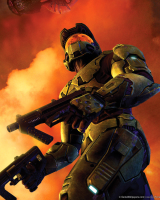 Halo 3 Game Picture for Nokia C1-01