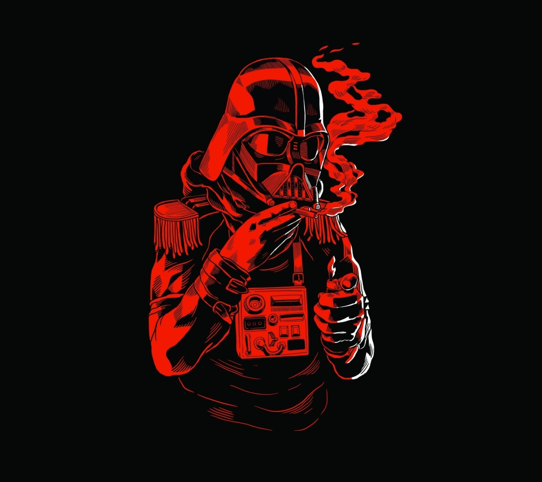 Screenshot №1 pro téma Star Wars Smoking 1080x960