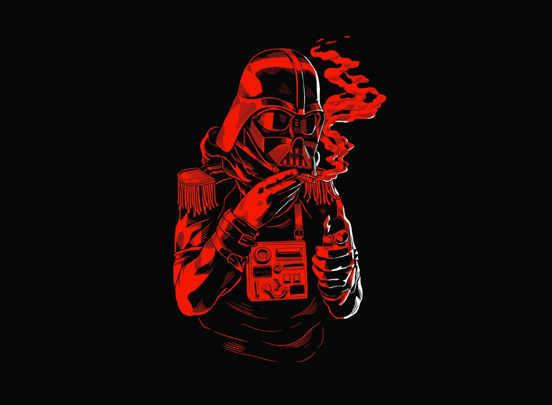 Screenshot №1 pro téma Star Wars Smoking 1920x1408