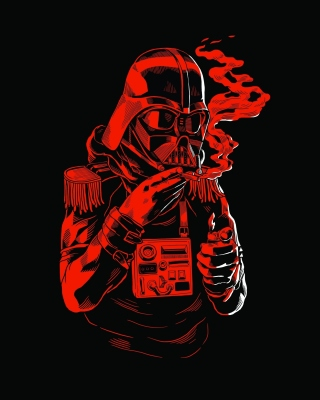 Star Wars Smoking Picture for iPhone 3G