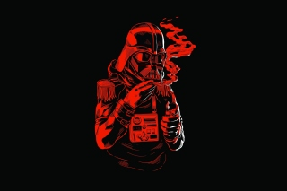 Star Wars Smoking Wallpaper for 220x176