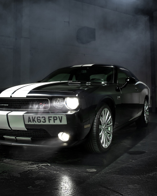 Dodge Challenger RT Background for Nokia Asha 308