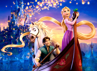 Tangled Wallpaper for Android, iPhone and iPad