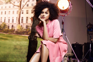 Nathalie Emmanuel HD Background for Android, iPhone and iPad
