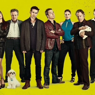 Seven Psychopaths with Colin Farrell and Sam Rockwell - Obrázkek zdarma pro iPad mini 2