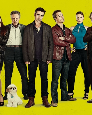 Seven Psychopaths with Colin Farrell and Sam Rockwell papel de parede para celular para 480x640