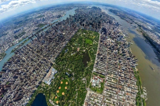 Central Park New York From Air Picture for Fullscreen Desktop 1280x960